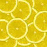Abstract background of lemon fruit slices Stock Photo
