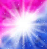 Abstract background with lens flare Royalty Free Stock Images