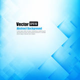 Abstract background light blue with basic geometry element. Vector illustration eps10 Royalty Free Stock Images
