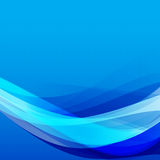 Abstract background light blue curve and wave element vector ill Stock Photography
