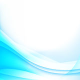 Abstract background light blue curve and wave element vector ill Stock Photos