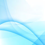 Abstract background light blue curve and wave element vector ill Royalty Free Stock Image