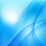 Abstract background light blue curve and wave element 003 Stock Photo