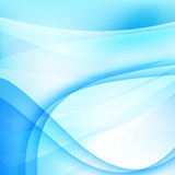 Abstract background light blue curve and wave element 002 Royalty Free Stock Image