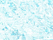 Texture light sky-blue ice. 3D render. Abstract background light blue ice pattern. Frost, pattern on the glass. 3D visualization stock images