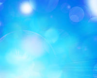 Abstract background light blur. Beautiful blue background with some blurred lights on it Royalty Free Stock Image