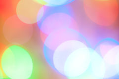 Abstract background with light circles Royalty Free Stock Images