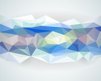 Abstract background with light colour polygonal design. Illustration vector Royalty Free Stock Image