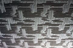 Abstract background. Abstract light and dark gray background with vertical and horizontal scratched lines Stock Photo