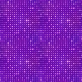 Abstract background with light dots on purple, seamless pattern. Abstract background with bright light dots on purple, seamless pattern Royalty Free Illustration