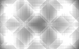 Abstract background with light effect and crystal like rhombuses. Abstract crystal light like geometric background in grey with transparency and gradients effect vector illustration