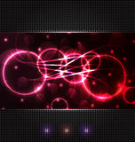 Abstract background with light effects Stock Image