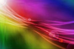 Abstract background with light and flare. Abstract background with magic light and flare Stock Illustration