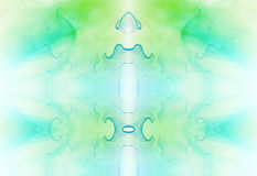 Abstract background with light green and blue structure. Stock Images
