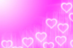 Abstract background with light heart Stock Photos