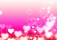 Abstract background with light heart pink flare blank for text. Royalty Free Stock Photography