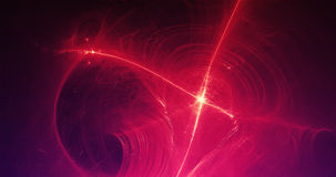 Abstract Background Light Lines And Curves With Particles Stock Photos