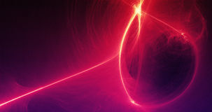 Abstract Background Light Lines And Curves With Particles Royalty Free Stock Image