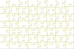 Abstract background - light puzzle Royalty Free Stock Photography