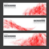 Abstract Background 0004. Abstract light red banner bright and light background vector illustration Stock Illustration