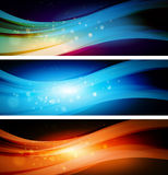 Abstract background with light Royalty Free Stock Image