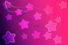 Abstract background with light and star concept Stock Photos