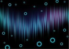 Abstract Background Light Wave Stock Image