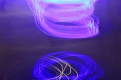 abstract background lights Στοκ φωτογραφία με δικαίωμα ελεύθερης χρήσης