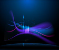 Abstract background with lights Stock Images