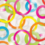 Abstract background with lights , circles Stock Images