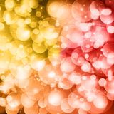 Colorful festive lights Royalty Free Stock Photo