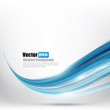 Abstract background Ligth blue curve and wave element vector ill. Ustration eps10 vector illustration