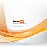 Abstract background Ligth orange curve. And wave element vector illustration eps10 Stock Photos