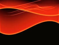 Abstract Background Fire Flames. Abstract background like fire flames or waves on rich black royalty free illustration