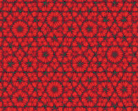 Abstract background like red fractal flowers Royalty Free Stock Photography
