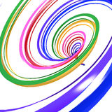 Abstract background line of colour pencil. As rainbow illustration Royalty Free Stock Images