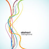 Abstract background with lines. Vector art Royalty Free Stock Photos