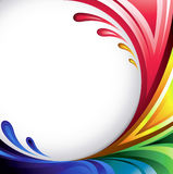 Abstract background lines Stock Image