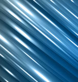 Abstract background with lines. Bright blue background with lines stock illustration