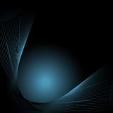 Abstract background with lines. Image royalty free illustration