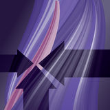 Abstract background with lines and arrows. Illustration Vector Illustration
