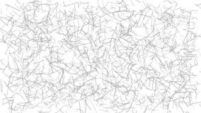 Abstract background of lines. Abstract light background of curves or scratches, gray on white stock illustration