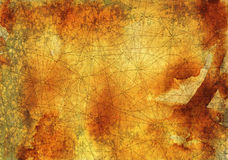 Abstract background with lines and old texture. Abstract background with crossed lines on old paper texture for wallpapers, cards, textile, arts. Pirate map or Stock Photography