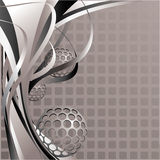 Abstract background. Lines and shapes. Streaks and spots Vector Illustration