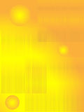 Abstract background from a lines and sphere. Golden color Stock Photo