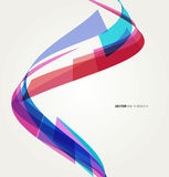 Abstract background with lines. Vector. Template design Royalty Free Illustration