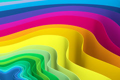Abstract background with lines wave color. Background consisting of samples of different colors made waves Royalty Free Stock Photography