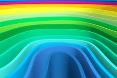 Abstract background with lines wave color. Background consisting of samples of different colors made waves Stock Photos