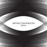 Abstract background with a lot of lines. Space for text. Monochrome image Vector Illustration