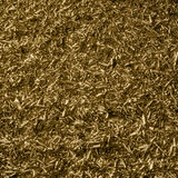 Metallic swarf back Stock Photo